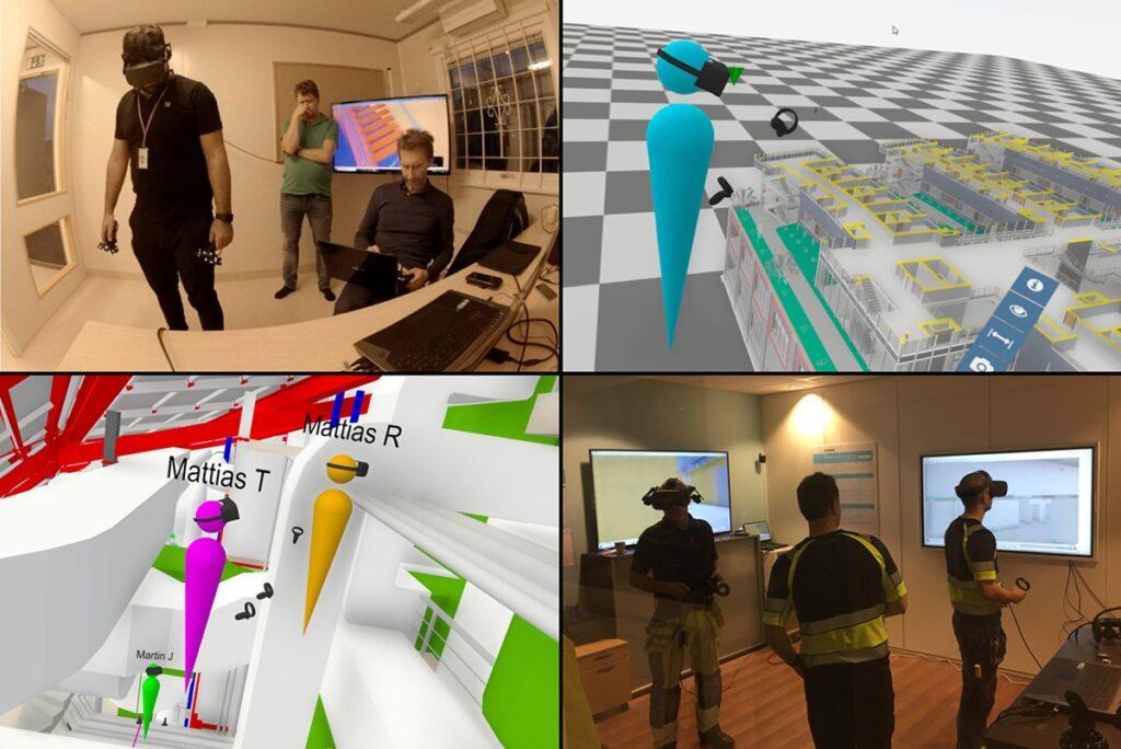 Exempelbilder från VR-verktyget